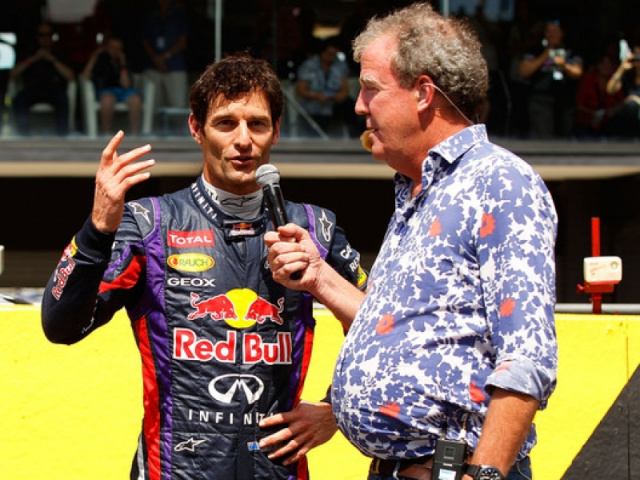 Mark Webber: Top Gear, Formula One Reporter BBC